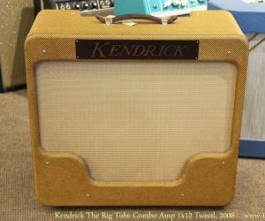 Kendrick The Rig Tube Combo Amp 1x12 Tweed, 2008