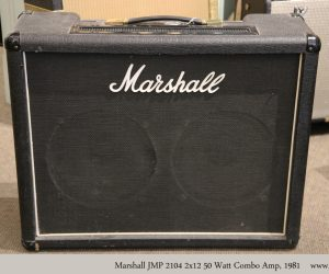 ❌SOLD❌ Marshall JMP 2104 2x12 50 Watt Combo Amp, 1981