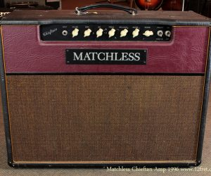 ❌SOLD❌ 1996 Matchless Chieftan Combo Amp