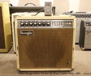 ❌SOLD❌ Mesa Boogie Mark IIB 60/100 Watt Combo Amp, 1981