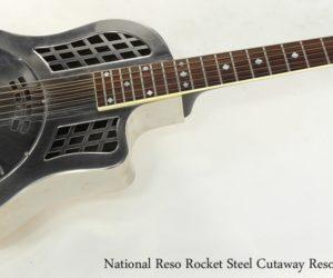 National Reso-Phonic ResoRocket Steel Guitar