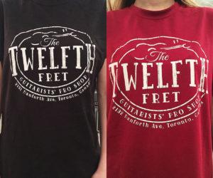 The New Twelfth Fret Logo T-Shirt
