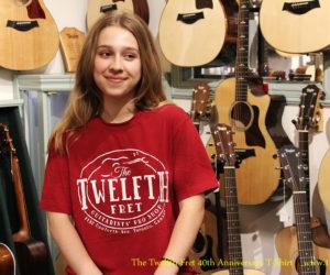 The Twelfth Fret 40th Anniversary T-Shirt
