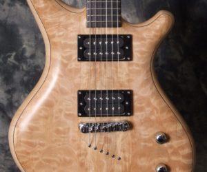 "Alexander James ""Ursa"" Maple Guitar SOLD"
