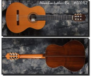 Alhambra Luthier Rio Concert Classical Guitar