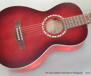 Sold Out and No Longer Available -  Art and Lutherie Ami Spruce Burgundy