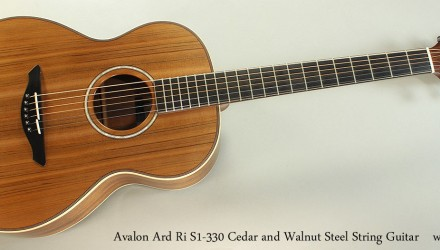 Avalon-Ard-Ri-S1-330-Cedar-and-Walnut-Steel-String-Guitar-Full-Front-View