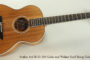 SOLD!!! Avalon Ard Ri S1-330 Cedar and Walnut Steel String Guitar