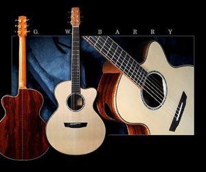 G.W. Barry Concert Cutaways SOLD