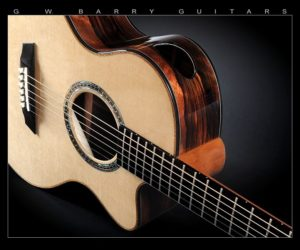 G.W. Barry Modified Concert with Royal Macassar Ebony SOLD