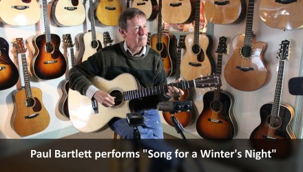 Paul-Bartlett-performing-the-Gordon-Lightfoot-classic-Song-For-A-Winters-Night