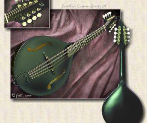 Breedlove Mandolins: Quartz OF