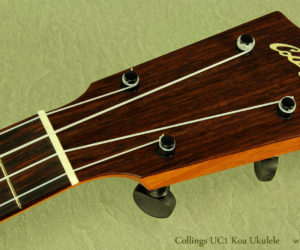 (NO LONGER AVAILABLE) Collings UC1 Koa Concert Ukulele