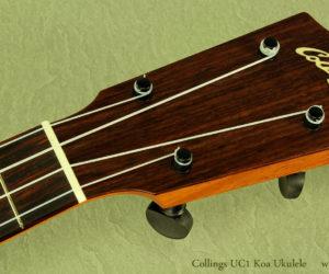 (NO LONGER AVAILABLE) Collings UC1 Koa Concert Ukulele