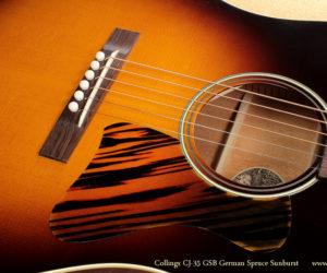 ❌SOLD❌ Collings CJ-35 GSB German Spruce Sunburst Acoustic