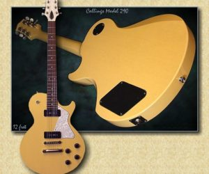 NO LONGER AVAILABLE!!! Collings Model 290 TV Yellow