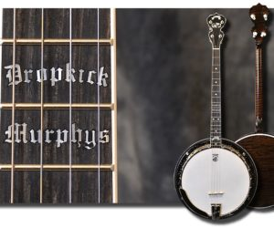 Deering Dropkick Murphys Boston Model Tenor Banjo