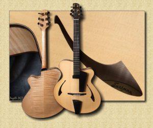 Eastman PG2 Pagelli Jazz Guitar