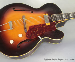 Sold!  1951 Epiphone Zephyr Regent Archtop (consignment)
