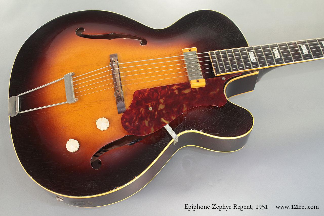 1951 Epiphone Zephyr Regent Www 12fret Com