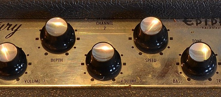 Epiphone_Century-amp_1962used_panel