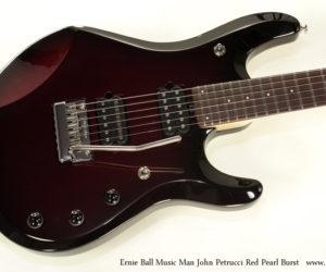Ernie Ball Music Man John Petrucci Red Pearl Burst (NO LONGER AVAILABLE)