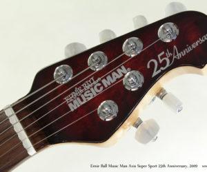 2009 Ernie Ball Music Man Axis Super Sport 25th Anniversary  SOLD
