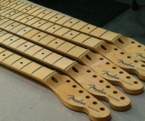 Fender Guitar Factory Tour