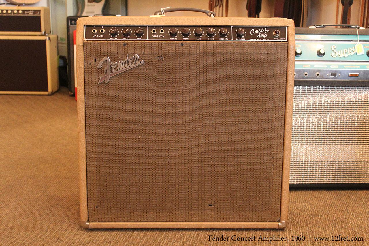 1960 Fender Concert Amplifier SOLD