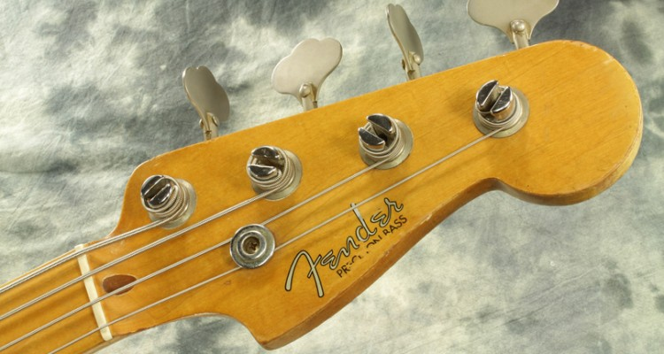 Fender-Precision-Bass-1959-Refinished-head-front