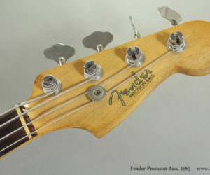 1963 Fender Precision Bass Sunburst (consignment) SOLD