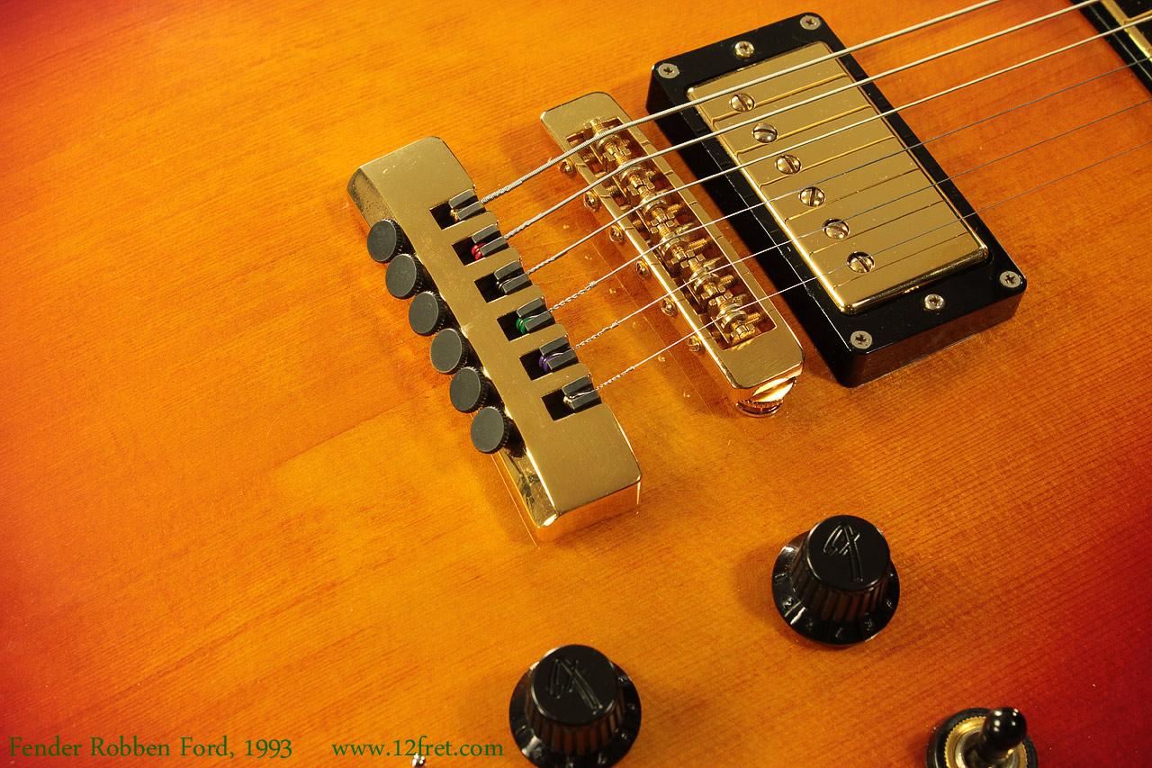 Fender Robben Ford Model 1993 Www 12fret Com