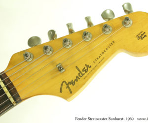 1960 Sunburst Fender Stratocaster (consignment)  SOLD