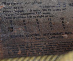 Fender Bassman 1960 Consignment SOLD