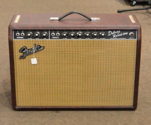 Fender Deluxe Reverb 2011 Red (Consignment)  SOLD