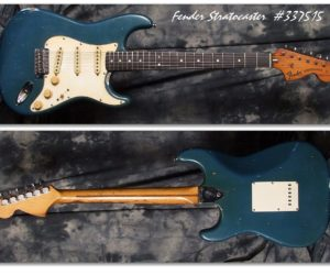 Fender Strat Lake Placid Blue 1972 (Consignment) SOLD