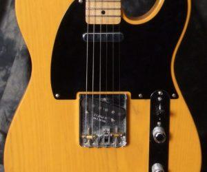Fender Telecaster '52 Reissue with G Bender SOLD