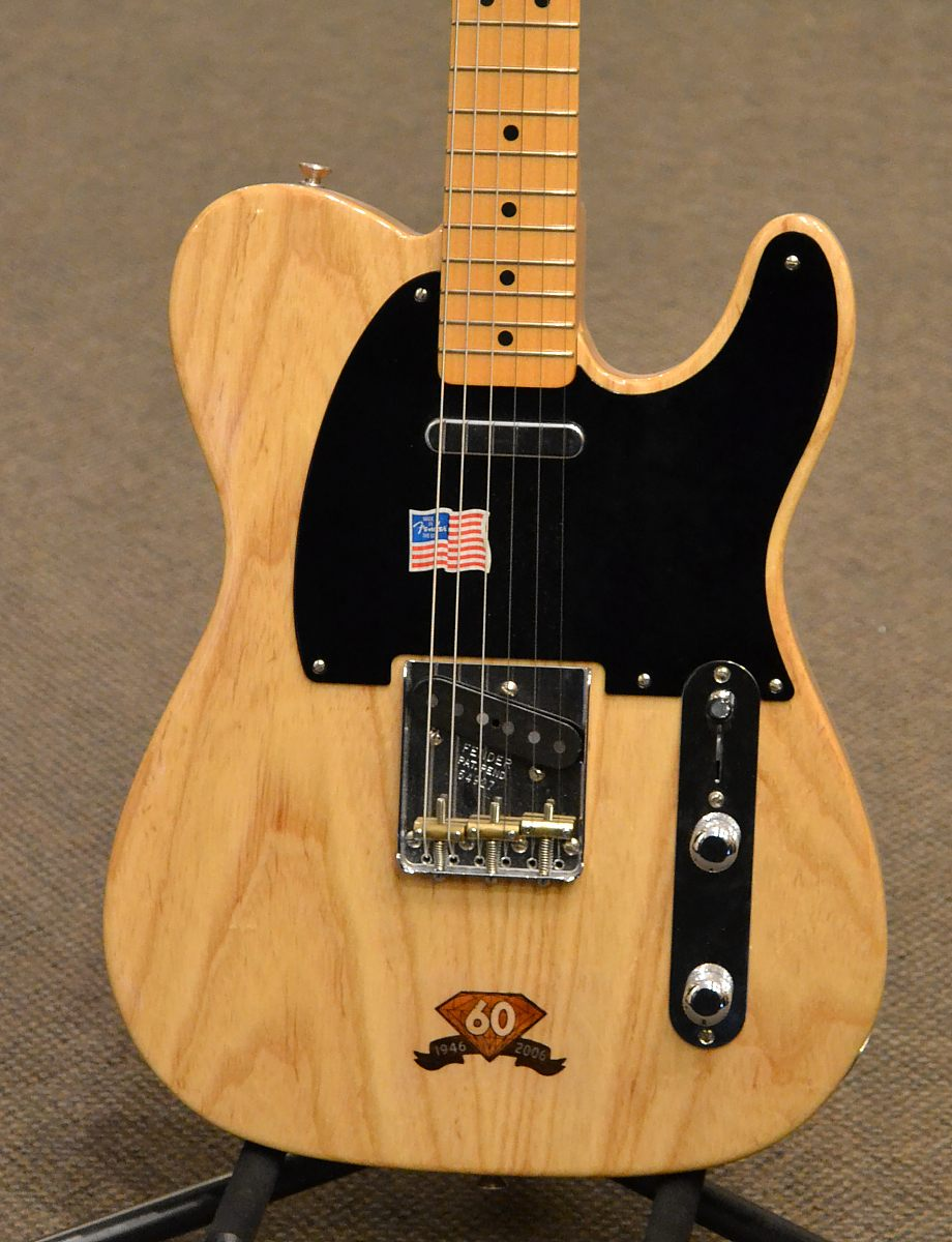 fender telecaster 60th diamond anniversary 2006. Black Bedroom Furniture Sets. Home Design Ideas