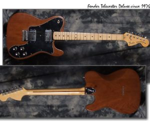 Fender Telecaster Deluxe 1976 (Consignment) SOLD