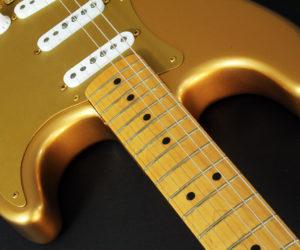 Fender Strat Ltd H.L.E. Gold 1989 (used) SOLD