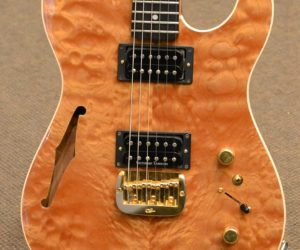 G&L ASAT Custom Hollowbody 2003 (Consignment) SOLD