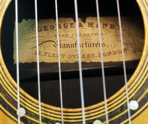 George & Manby Romantic Era guitar 1840 (consignment)
