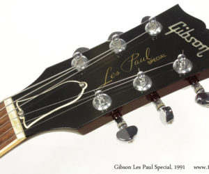 Wine Red 1991 Gibson Les Paul Special  (consignment)  SOLD