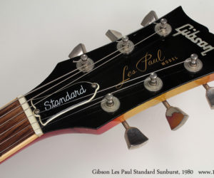 Gibson Les Paul Standard 1980 SOLD