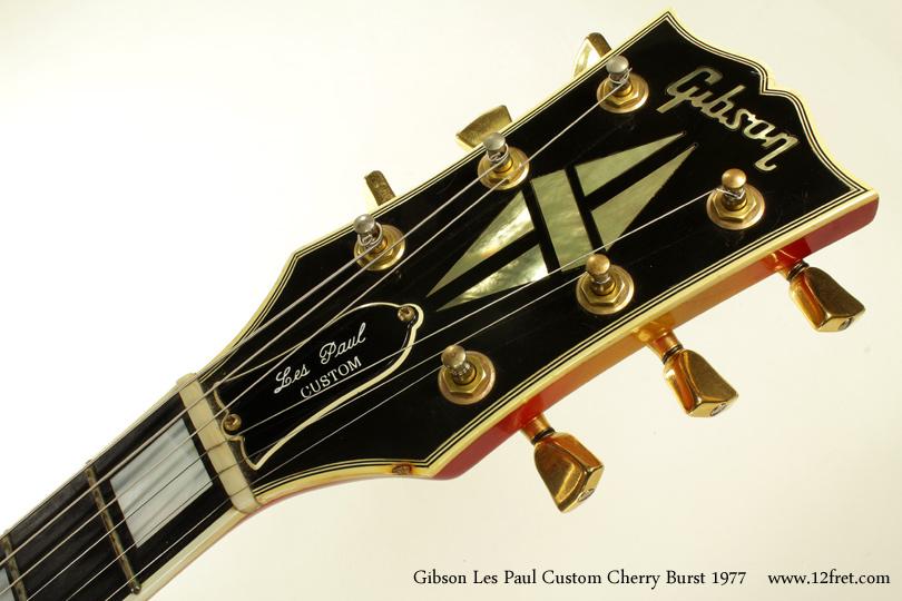 1977 Gibson Les Paul Custom Cherry Burst Www 12fret Com