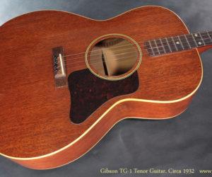 Gibson TG-1 Tenor Guitar circa 1932 No Longer Available