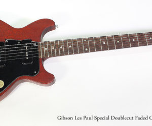 SOLD!! 2007 Gibson Les Paul Special Doublecut Faded Cherry