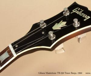 ❌SOLD❌ Gibson Mastertone TB-250 Tenor Banjo 1960