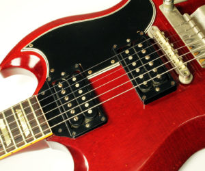 Gibson SG with Vibrola 1965 (consignment) No Longer Available