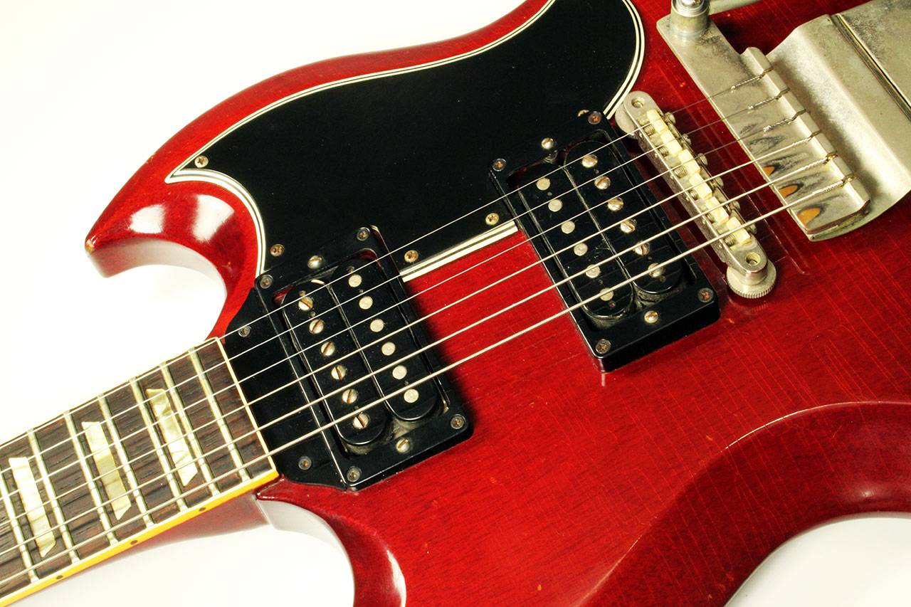 Gibson SG With Vibrola 1965 Www 12fret Com